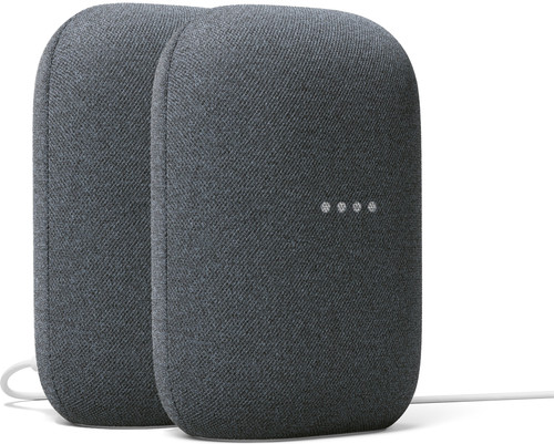 Google Nest Audio Charcoal Duo Pack Main Image