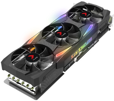 PNY GeForce RTX 3090 24GB XLR8 Gaming UPRISING EPIC-X RGB Triple Fan Edition Main Image