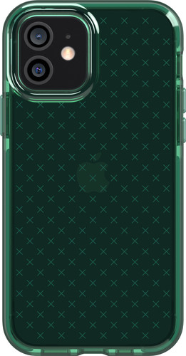 Tech21 Evo Check Apple iPhone 12 / 12 Pro Back Cover Green Main Image