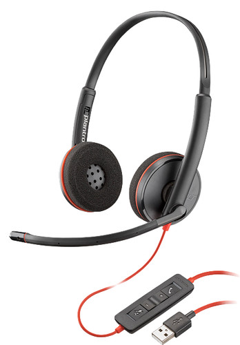 Poly Blackwire C3220 USB-A Office Headset Main Image