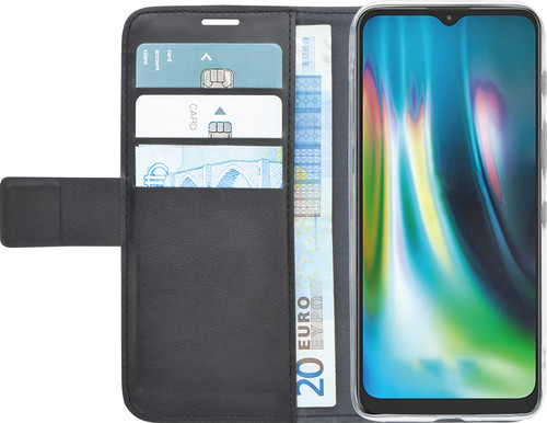 Azuri Wallet Motorola Moto G9 Play / E7 Plus Book Case Zwart Main Image