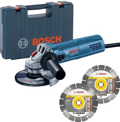 Bosch Professional GWS 880 + 2x diamantschijf Main Image