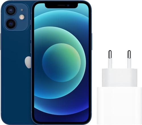 Apple iPhone 12 mini 128GB Blauw + Apple Usb C Oplader 20W Main Image