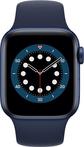 Tweedekans Apple Watch Series 6 4G 40mm Blauw Aluminium Blauwe Sportband Main Image