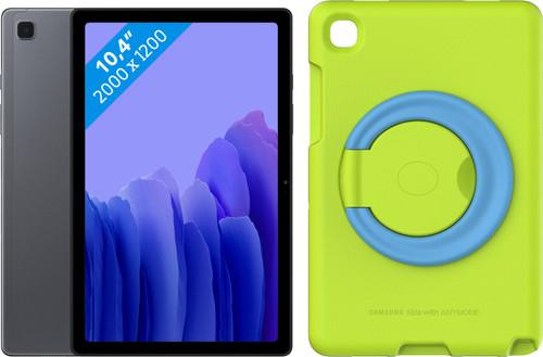 Samsung Galaxy Tab A7 32GB Wifi Grijs + Kinderhoes Groen Main Image