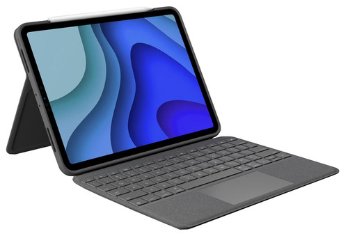 Logitech Folio Touch Apple iPad Pro 11 inches Keyboard Cover AZERTY Gray Main Image