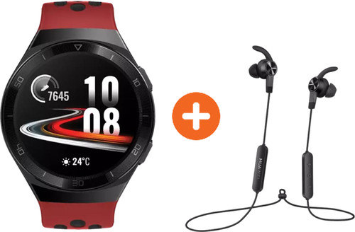 Huawei Watch GT 2E Sport Rood met oordopjes Main Image