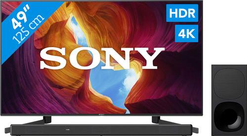 Sony KD-49XH9505 + Soundbar Main Image