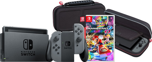 Game on the go pack - Nintendo Switch (2019 Upgrade) Gray Main Image