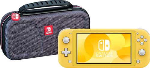 Nintendo Switch Lite Geel + Bigben Officiële Nintendo Switch Lite Beschermtas Main Image