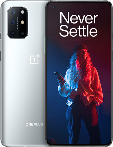 OnePlus 8T 128GB Zilver 5G Main Image