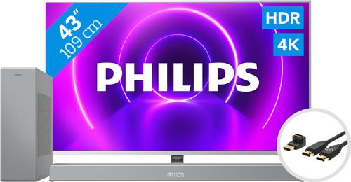 Philips 43PUS8505  - Ambilight (2020) + Barre de Son + Câble HDMI Main Image