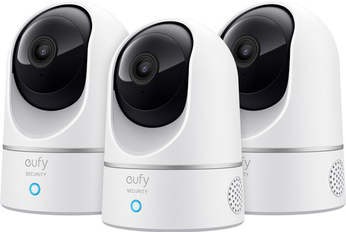 Eufy by Anker Indoor Cam 2K Pan & Tilt 3-Pack Main Image
