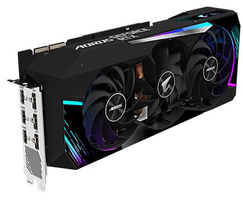 Gigabyte AORUS GeForce RTX 3090 MASTER 24G LHR Main Image