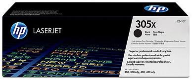 HP 305X LaserJet Toner Noir (CE410X) Main Image