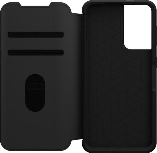 OtterBox Strada Samsung Galaxy S21 Book Case Leather Black Main Image