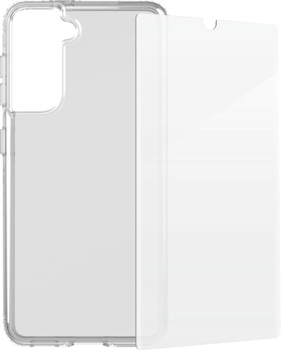 Tech21 Evo Clear Samsung Galaxy S21 Plus Back Cover & InvisibleShield Screen Protector Main Image