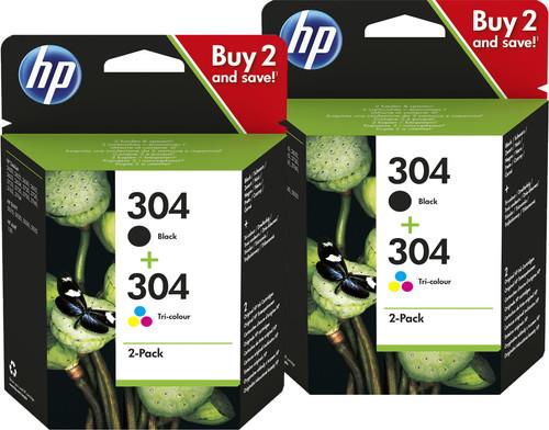 HP 304 Cartridges Duo Combo Pack Main Image