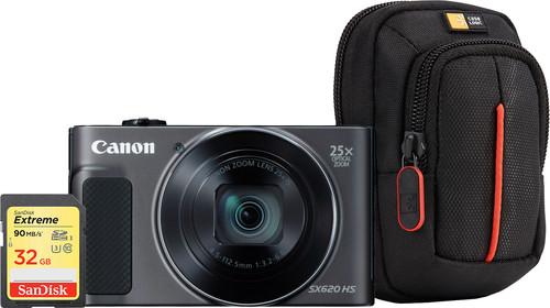 Canon Powershot SX620 HS Zwart Starterskit Main Image