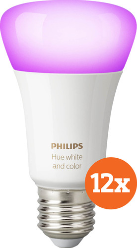 Philips Hue White and Color E27 Bluetooth 12-Pack Main Image