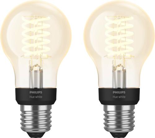 Philips Hue Filamentlamp White Standaard E27 Bluetooth Duo Pack Main Image
