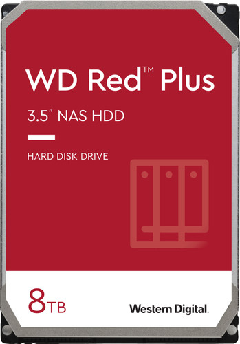 WD Red Plus WD80EFBX 8 To Main Image
