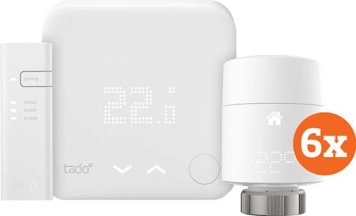 Tado Slimme Thermostaat V3+ startpakket + 6 radiatorknoppen Main Image