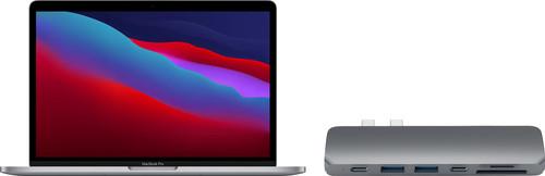 Apple MacBook Pro 13 inches (2020) 16GB/1TB Apple M1 Space Gray AZERTY + Satechi USB-C Hub Main Image