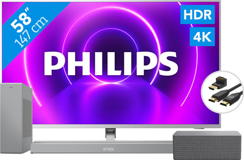 Philips 58PUS8505 + Soundbar + Wifi speaker + HDMI kabel Main Image