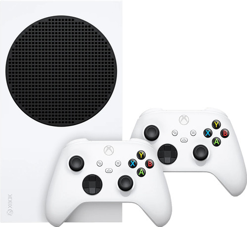 Xbox Series S + Xbox Series X & S Wireless Controller Robot Wit Main Image