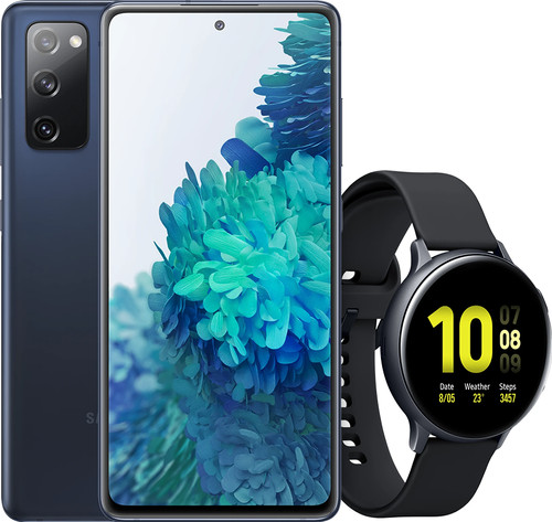 Samsung Galaxy S20 FE blauw + Samsung Galaxy Watch Active2 Main Image