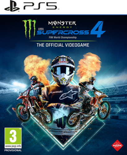 Monster Energy Supercross 4 PS5 Main Image