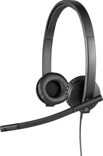 Logitech H570e Stereo USB-A Office Headset Main Image