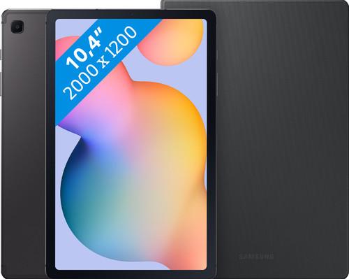 Samsung Galaxy Tab S6 Lite 64 GB Wifi + 4G Grijs + Samsung Book Case Grijs Main Image