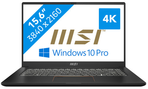 MSI Summit E15 A11SCS-084BE Azerty Main Image