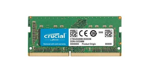 Crucial 8 Go 3200 MHz DDR4 SODIMM (1x8 Go) Main Image