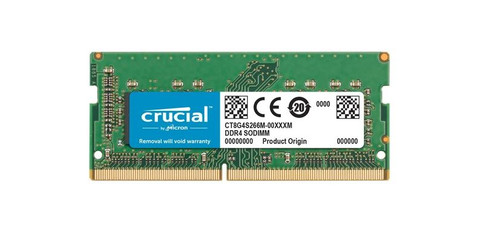 Crucial 16 Go 3200 MHz DDR4 SODIMM (1 x 16 Go) Main Image