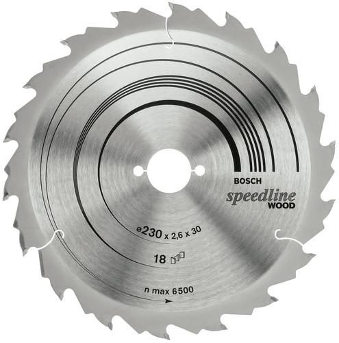Bosch Speedline Zaagblad voor Hout 160x20x2,4mm 12T Main Image