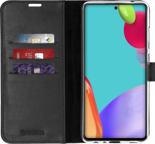 Valenta Gel Skin Samsung Galaxy A52 Book Case Zwart Main Image