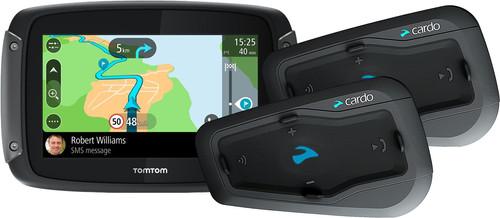 TomTom Rider 50 WE Zwart + Cardo Scala Rider Freecom 2 Plus Duo Main Image