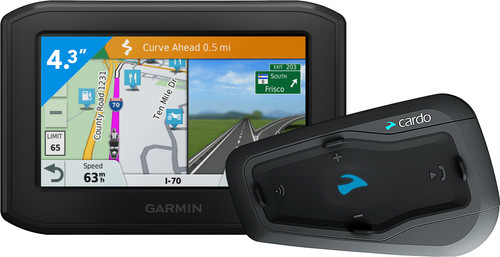 Garmin Zumo 346 LMT-S West Europa + Cardo Scala Rider Freecom 2 Plus Single Main Image