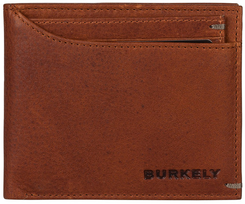 Burkely Antique Avery Billfold Low 10 Cards Cognac Main Image