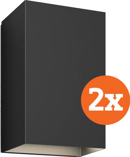 Philips Hue Resonate muurlamp White & Color zwart Duo Pack Main Image