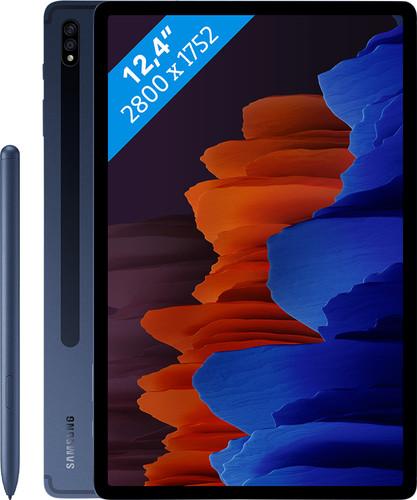 Samsung Galaxy Tab S7 Plus 128GB Wifi + 5G Blauw Main Image