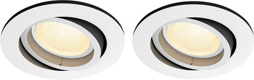 Philips Hue Centura inbouwspot Colour rond wit Duo-Pack Main Image