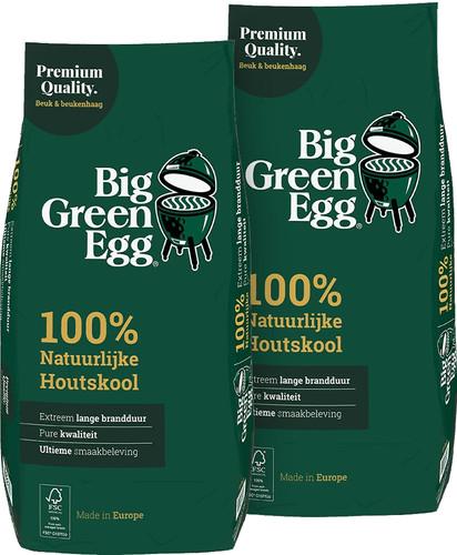 Big Green Egg Premium Natural Houtskool 9 kg Duo Pack Main Image
