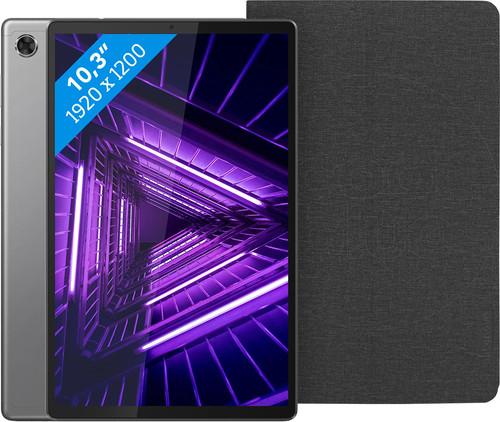 Lenovo Smart Tab M10 Plus (2de generatie) 128 GB Wifi Grijs + Lenovo Book Case Zwart Main Image
