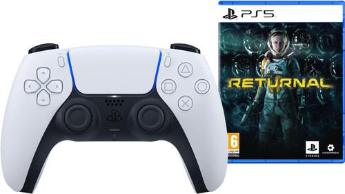 Sony PlayStation 5 DualSense draadloze controller + Returnal PS5 Main Image