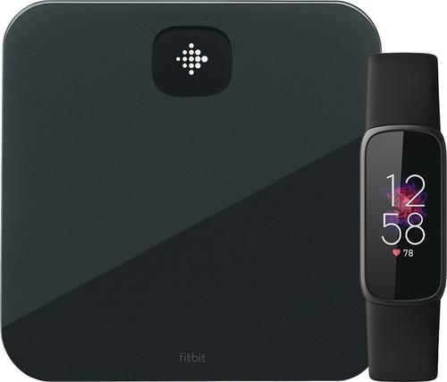 Fitbit Luxe Zwart + Fitbit Aria Air Zwart Main Image