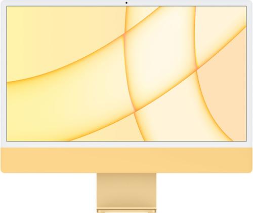 "Apple iMac 24"" (2021) 8GB/256GB Apple M1 met 8 core GPU Geel AZERTY Main Image"